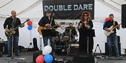 Double Dare UK - live at Cootes Farm Community Summer Fayre - 11th June 2016